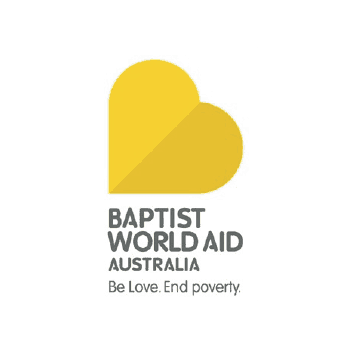 Baptist World Aid Australia Logo on Transparent Background